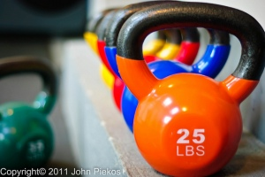 Kettle bells could become your secret weapon (Copyright 2011 John Piekos)